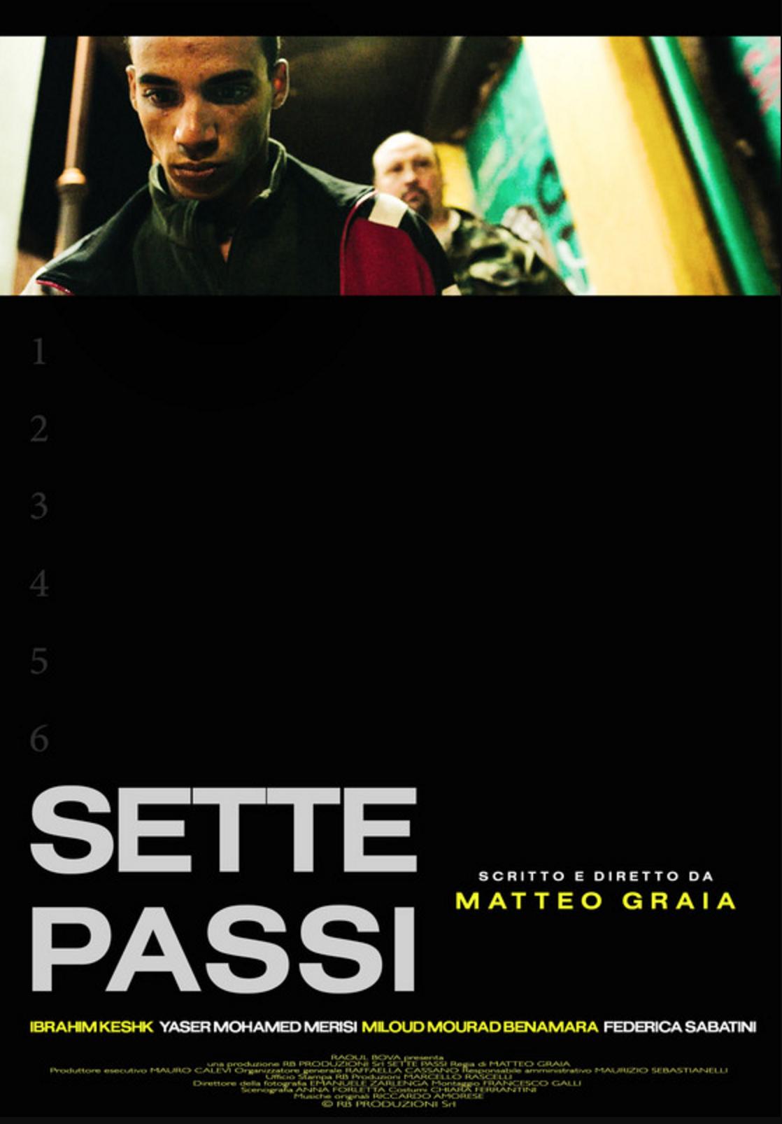 Sette passi locandina roma creative contest