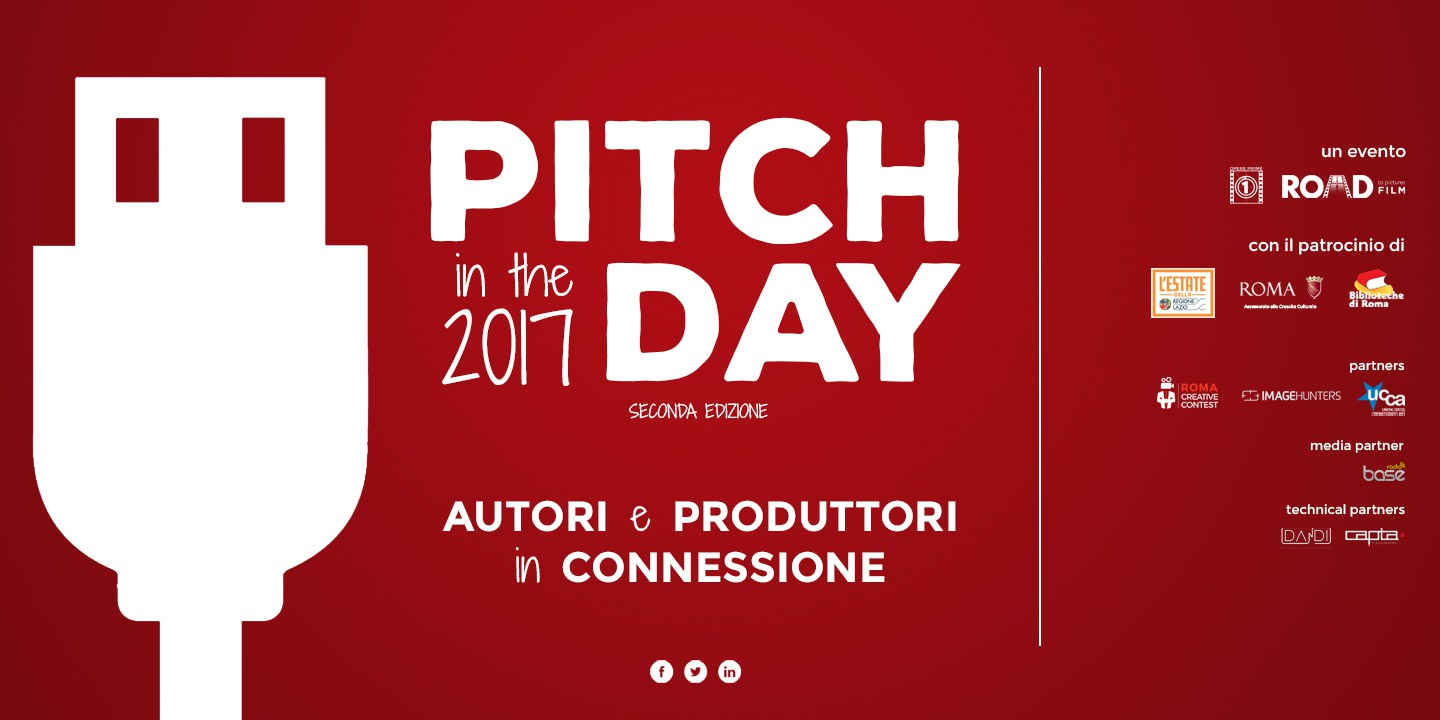 PITCHINTHEDAY - Roma Creative Contest 2017