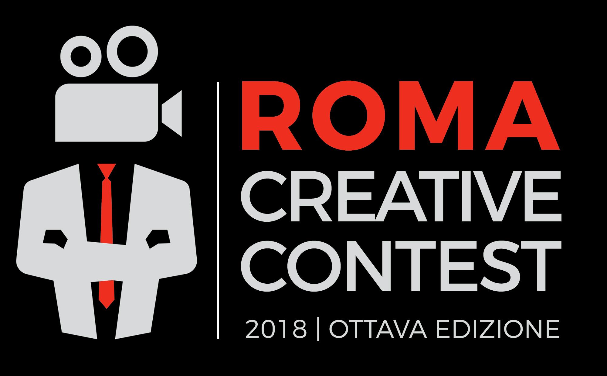 Logo Roma Creative Contest 2018 nero