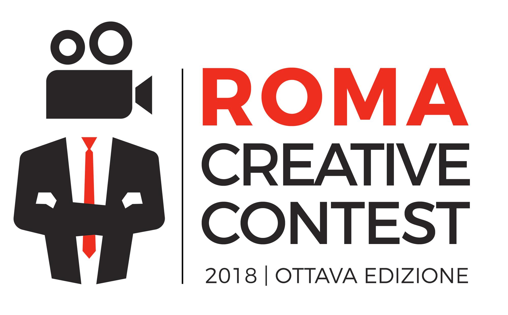 Logo Roma Creative Contest 2018 bianco