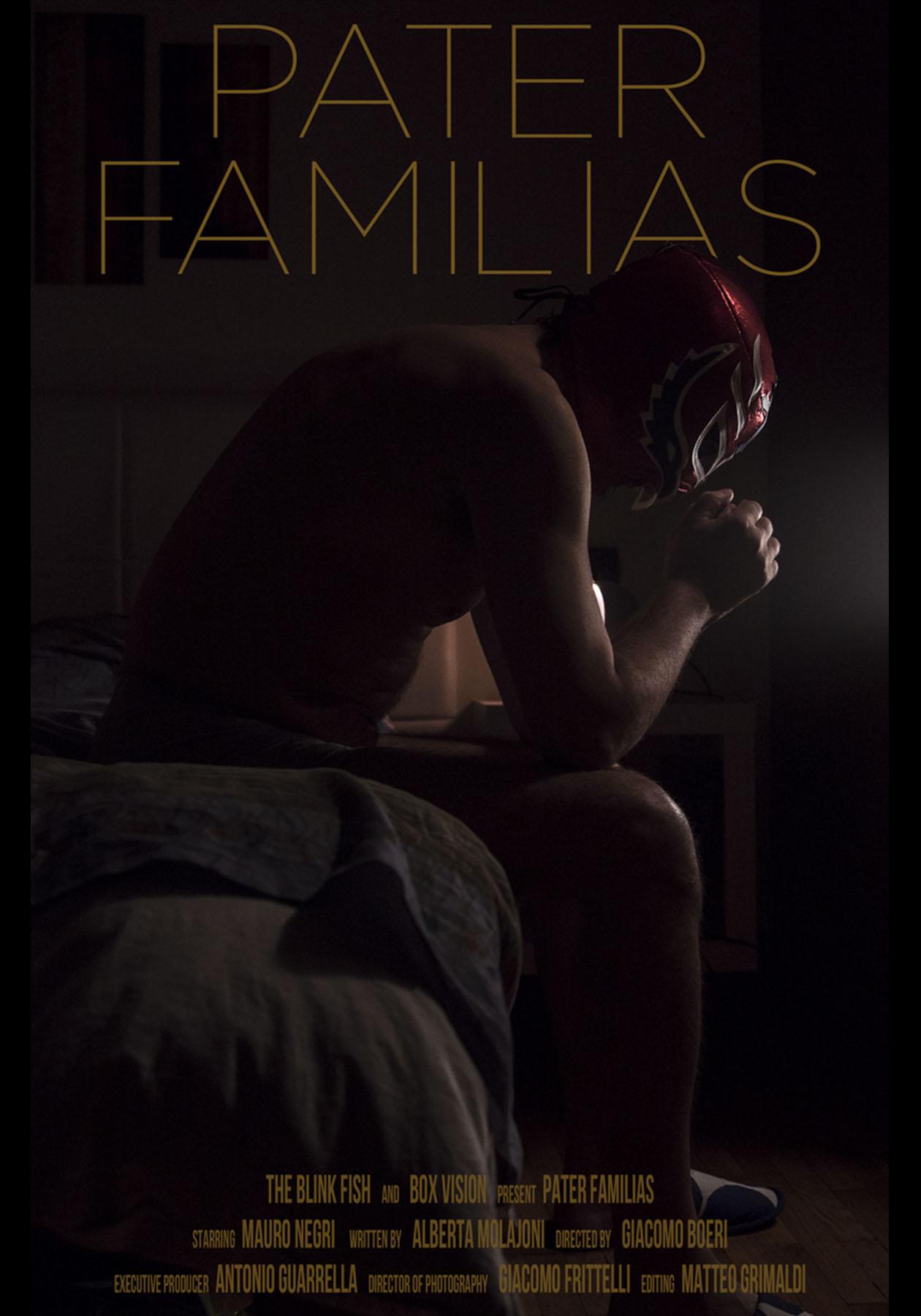 Pater Familias locandina - Roma creative Contest