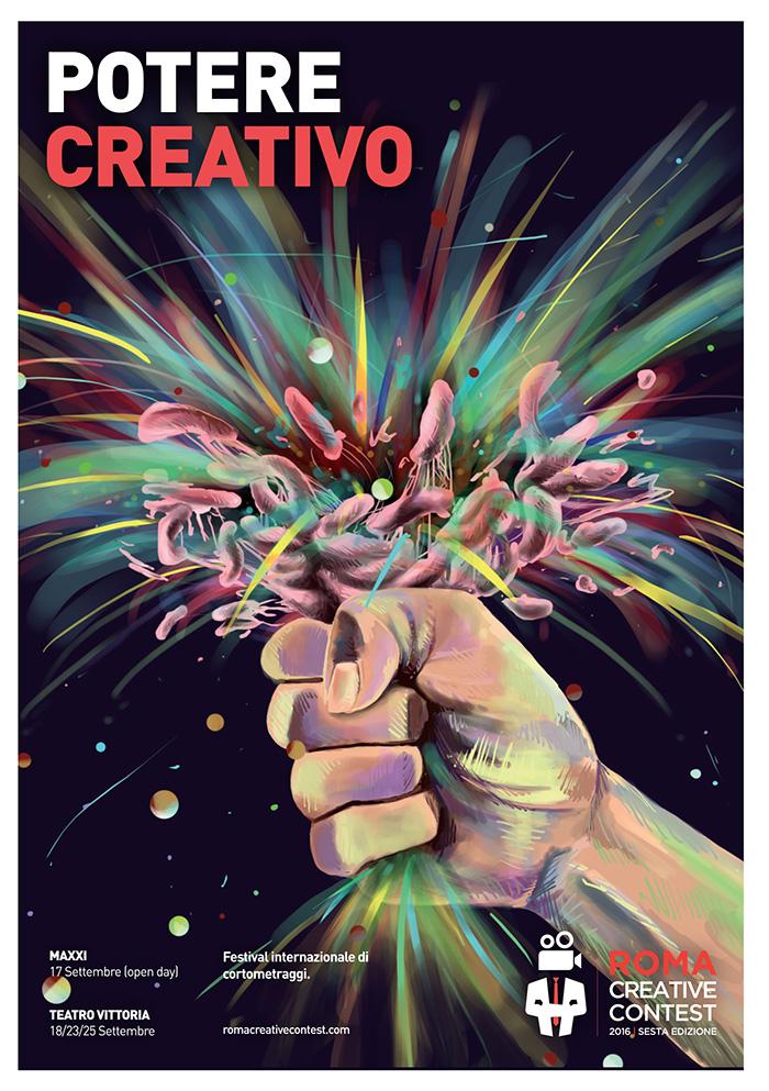 Locandina Roma Creative Contest Edizione 2016
