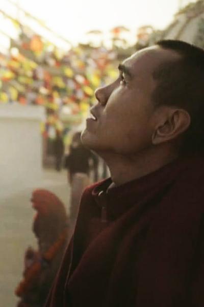 The Sad Monk - Roma Creative Contest 2016