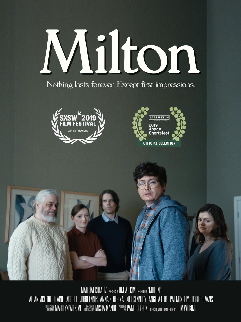 Milton Locandina Roma Creative Contest