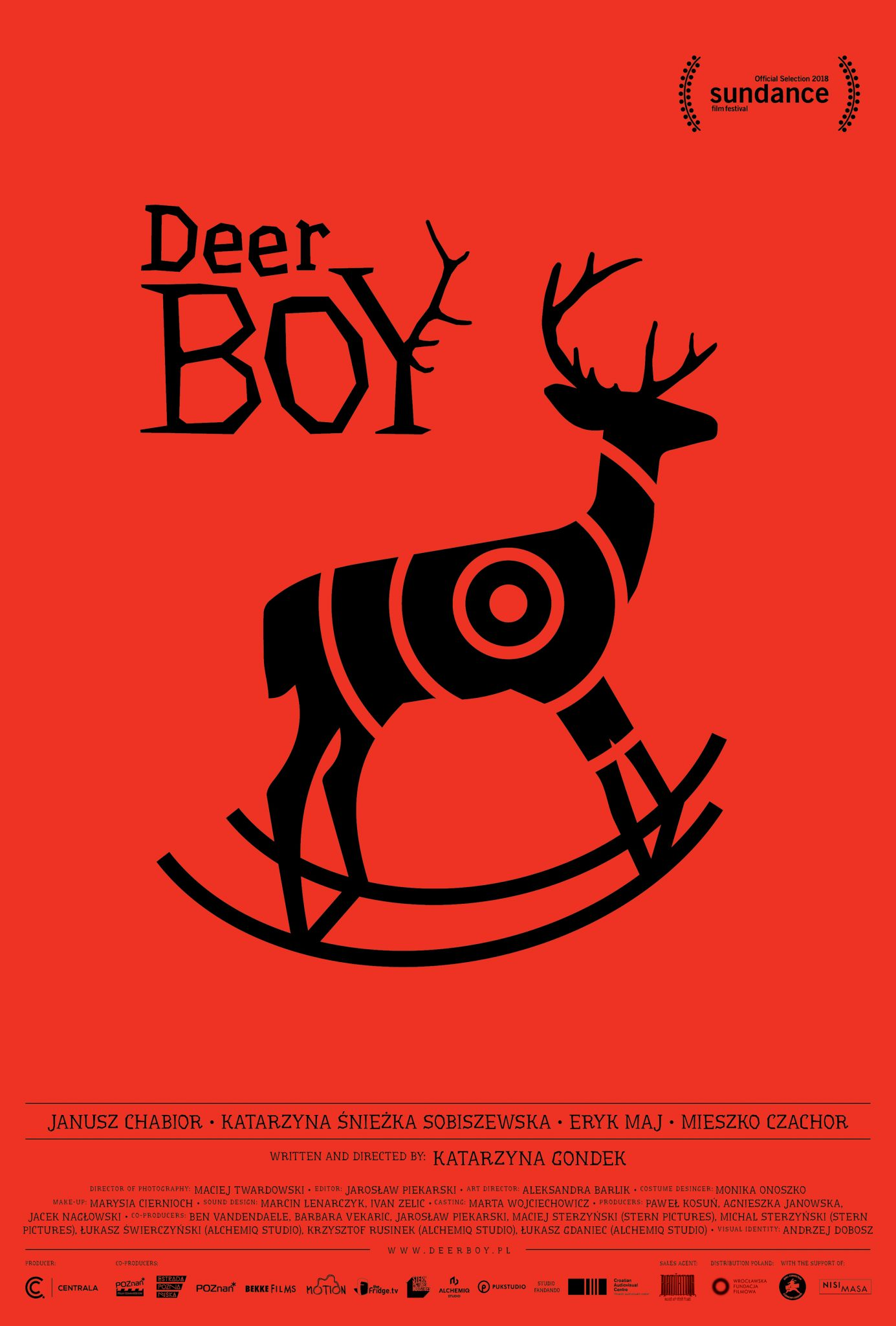 Deer Boy Roma Creative Contest Locandina